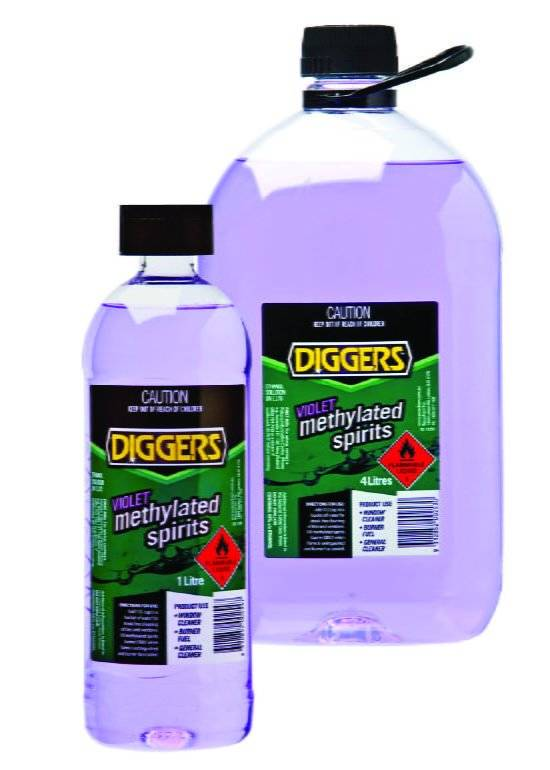 Diggers Violet Methylated Spirits - Diggers Australia