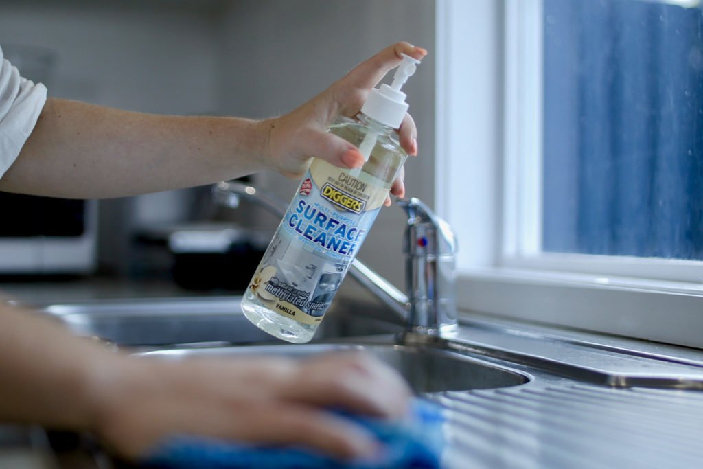 How to spring clean your home using Diggers Products