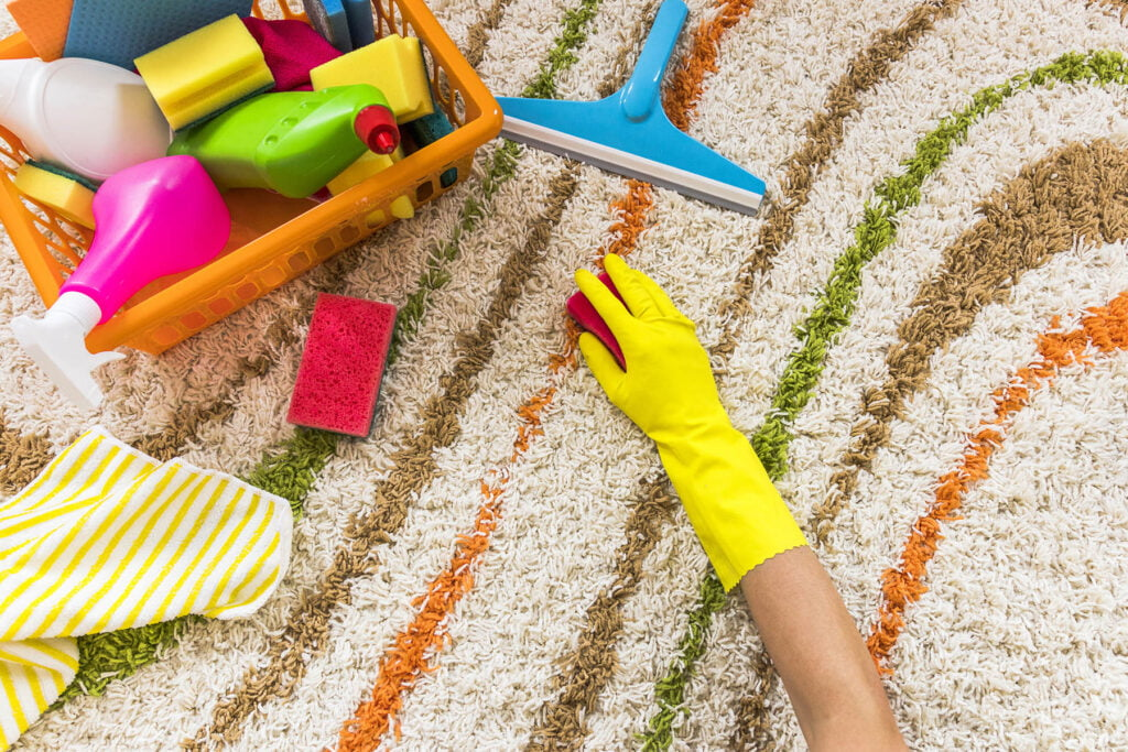 How to remove tough stains on the carpet – you won't believe how easy it is!